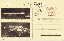 PK Publicitaire 1936 S.A. ETERNIT : Division Tuyaux à THISSELT Et Division Plaques à KAPELLE-OP-DEN-BOS - Willebroek