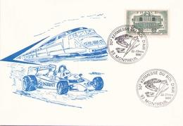 FRANCE ENVELOPPE DU 22 - 23 NOVEMBRE 1980 MONTREUIL 30 ° KERMESSE DU BOL D AIR - Postmark Collection (Covers)