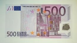 EURO-GERMANY 500 EURO (X) R008 Sign TRICHET - EURO