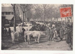 France 03 - Moulins - Le Cours De Bercy Un Jour De Foire  - Achat Immédiat - Foires
