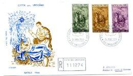 A19419)Vatikan FDC 514 - 516 - FDC