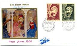 A19425)Vatikan FDC 536 - 537 - FDC