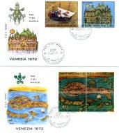 A19525)Vatikan FDC 599 - 604 - FDC