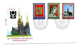 A19530)Vatikan FDC 615 - 617 - FDC