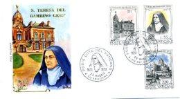 A19531)Vatikan FDC 618 - 620 - FDC