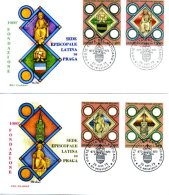 A19533)Vatikan FDC 625 - 628 - FDC