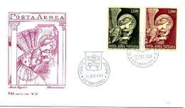 A19673)Vatikan FDC 536 - 537 - FDC