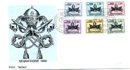 A19679)Vatikan FDC P 19 - 24 - FDC
