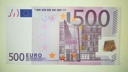 EURO-GERMANY 500 EURO (X) R010 Sign TRICHET - EURO