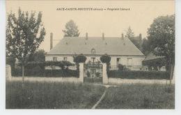 ARCY SAINTE RESTITUE - Propriété LIOTARD - Autres Communes