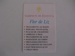 Gabinete De Estética Flor De Liz  Almada Portugal Portuguese Pocket Calendar 1993 - Calendari