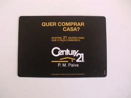Century 21 Charneca Da Caparica Almada Portugal Portuguese Pocket Calendar 2007 - Calendari
