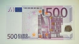 EURO-GERMANY 500 EURO (X) R012 Sign TRICHET - EURO