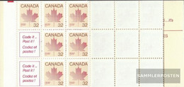 Canada MH91 (complete Issue) Unmounted Mint / Never Hinged 1983 Ahorn - 1952-.... Reign Of Elizabeth II