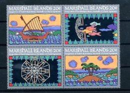 A19871)Marshall-Inseln 1 - 4 VB** - Marshallinseln