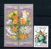 A19893)Marshall-Inseln 96 - 100 VB** - Marshall