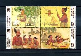 A20019)Marshall-Inseln 484 - 487 VB** - Marshall