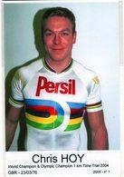 CYCLISME TOUR  DE  FRANCE   CHRIS HOY - Cyclisme