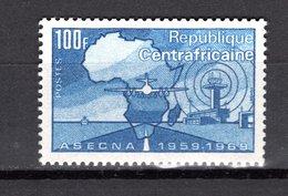 CENTRAFRIQUE N° 121  NEUF SANS CHARNIERE COTE 2.00€   ASECNA  AVION - Repubblica Centroafricana