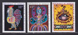 SENEGAL AERIENS N°   86 à 88 ** MNH Neufs Sans Charnière, TB (D7631) Tapisseries - 1970 - Senegal (1960-...)