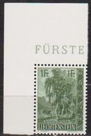 Lichtenstein 1957 MiNr.359 ** Postfr. Heimatliche Bäume Und Sträucher ( 678 )günstige Versandkosten - Liechtenstein