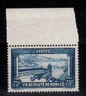 Monaco - YV 125 N** Cote 12 Euros - Nuovi