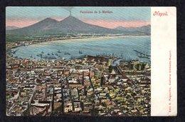 ITALIA // NAPOLI // PANORAMA DE S. MARTINO - EDITIONS E. RAGOZINO < 1904 - Napoli (Naples)