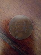 Curioso Gettone Pubblicitario Ricavato Da Una Moneta Da 5cent.di V.E.2  Milano Augusto Engelmann (macchine Da Cucire) - Royal/Of Nobility