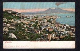 ITALIA // NAPOLI // PRÉCURSEUR - PANORAMA DAL VOMERO CON S. ELMO - EDITIONS E. RAGOZINO < 1904 - Napoli (Naples)
