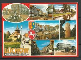 DEUTSCHLAND Ansichtskarte LÜCHOW 1998 Gesendet Mit Briefmarke - Luechow