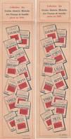 """2 ANCIENS MARQUE PAGE PUBLICITÉ """"GUIDES MICHELIN"""" DES CHAMPS DE BATAILLE PARUS EN 1919 LE SAILLANT DE SAINT MIHIEL ..... - Bookmarks"""