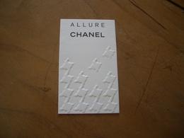 Carte Chanel Allure Australienne - Perfume Cards