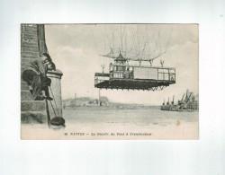22777  CPA  NANTES : La Nacelle Du Pont à Transbordeur !  Beau Plan ! 1919 ! ACHAT DIRECT !! - Nantes