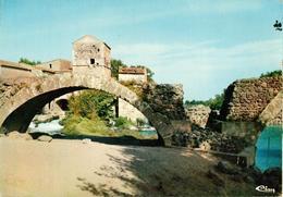 34 - SAINT THIBERY - LE PONT ROMAIN AVEC LE VIEUX MOULIN - Frankreich