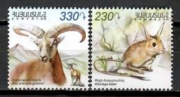 Armenia 2012 / Fauna Mammals MNH Säugetiere Mamíferos / Cu9630  1 - Sellos