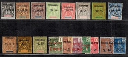 Yunnanfou Très Belle Collection Neufs * Et Oblitérés 1903/1919. Bonnes Valeurs. B/TB. A Saisir! - Yunnanfu (1903-1922)