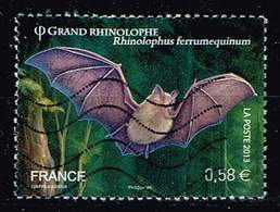 Frankreich 2013, Michel# 4383 O Greater Horseshoe Bat (Rhinolophus Ferrumequinum) - Gebraucht