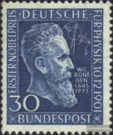 FRD (FR.Germany) 147Z (complete Issue) Tested, With Watermark 4Z Unmounted Mint / Never Hinged 1951 50.Anniversary Nobel - Unused Stamps