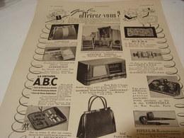 ANCIENNE AFFICHE PUBLICITE QUE LUI OFFRIREZ VOUS 1941 - Other