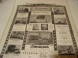 ANCIENNE PUBLICITE FAUBOURG ST ANTOINE -1941 - Other