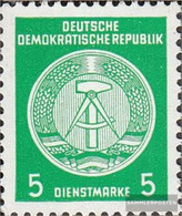 DDR DA18I Y I, Standing Watermark Unmounted Mint / Never Hinged 1954 Circular Arc After Right - Unused Stamps