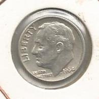 Monnaie ,Etats Unis ,United States Of America , One Dime ,LIBERTY, 2 Scans , 1964 - Bondsuitgaven