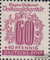 Soviet Zone (Allied.cast.) 149I, DFUTSCHE Post Unmounted Mint / Never Hinged 1946 People's Solidarity - Soviet Zone