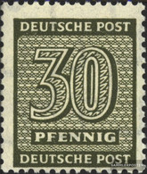 Soviet Zone (Allied.cast.) 135Y B Tested Unmounted Mint / Never Hinged 1945 Paragraph - Soviet Zone