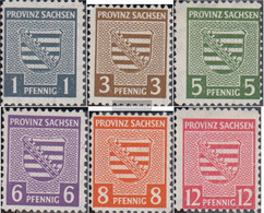 Soviet Zone (Allied.cast.) 66X A-71X A (complete Issue) Tested, Post Master Separation Unmounted Mint / Never Hinged 194 - Soviet Zone