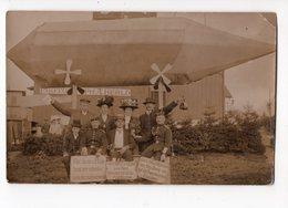 ELSENBORN - Zeppelin - 1910 *carte Photo* - Elsenborn (camp)