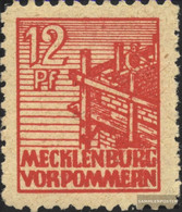 Soviet Zone (Allied.cast.) 36z F GeprüFt, Thin Paper Unmounted Mint / Never Hinged 1946 Farewell Series - Soviet Zone