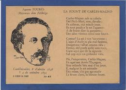 CPSM Félibrige Félibre Provence Occitanie Circulé Signature Fourés Voir Scan Du Dos éditeur Antoni Conio - Provence-Alpes-Côte D'Azur