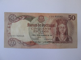 Portugal 50 Escudos Ouro 1964 Banknote - Portugal