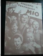 Boccasile Pubblicitaria Locatelli Formaggino Mio  Anni Dopoguerra - Italia